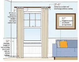 hanging picture height proper height to hang curtain rods www cintronbeveragegroup com