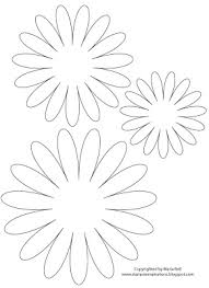 7 best images of printable 3d paper flower template printable