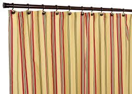 yellow ticking stripe shower curtain u2022 shower curtain design