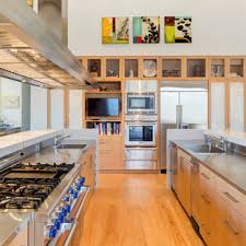 kitchen ideas with oak cabinets and stainless steel appliances 75 beautiful kitchen with light wood cabinets and stainless