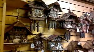 Authentic Cuckoo Clocks Black Forest Cuckoo Clock Tour Germany Titisee Youtube