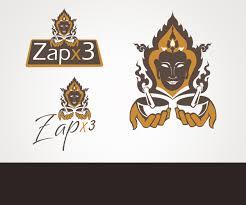 thai design logo design for zap x 3 by pc productions design 4117818