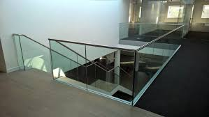 Glass Banisters For Stairs Glass Balustrade Elysion