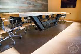 enchanting metal conference table legs furniture wood and steel