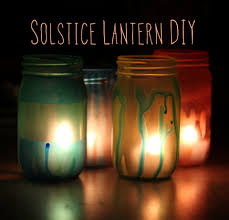 diy tutorial for homemade mod podge and solstice lanterns