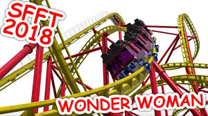 Closest Six Flags Wonder Woman Golden Lasso Coaster Nl2 Pov Six Flags Fiesta Texas