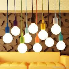 pendant lights led e27 chandeliers lighting no bulb pendant lamps modern cord pendant