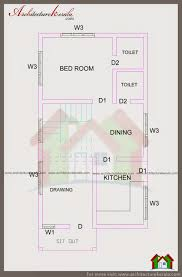 bedroom kerala house plan stupendous in cent plot architecture 3