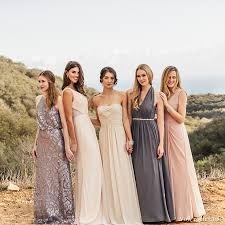 matching wedding dresses bridesmaid trend report 2016 featuring vow to be chic designer