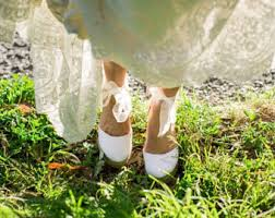wedding shoes for grass boho wedding shoes etsy