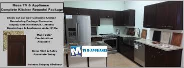 Kitchen Televisions Under Cabinet Mesa Tv Mtv Kitchen Appliance Remodel Package Mesa Gilbert Az