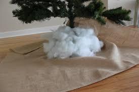 decorating diy burlap tree skirt for charming christmas
