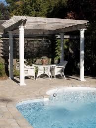Pool Pergola Designs by 41 Incredibly Beautiful Backyard Pergolas