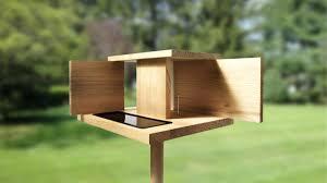 rat proof bird feeder wooden squirrel feeders wooden bird feeder