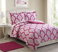 Blush Pink Comforter Pink Comforter Clearance 4pc Bed In A Bag Destiny Pink Comforter