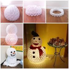wonderful diy glittery snowball ornaments for
