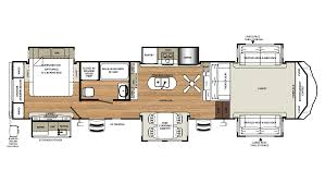 5th Wheel Trailer Floor Plans by New 2018 Forest River Sandpiper 379flok 7342