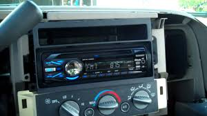 putting a new stereo in the silverado youtube