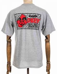 obey clothing obey clothing big boy t shirt grey clothing from