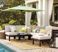 Wicker Patio Furniture Cushions - elegant wood patio furniture kits with large square seat cushions