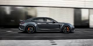 porsche 997 widebody new techart panamera grand gt looks like 911 widebody