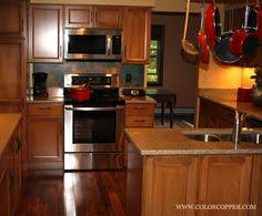 Copper Kitchen Backsplash Stunning Copper Backsplash For Modern Kitchens Copper Backsplash