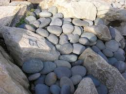 Black Garden Rocks Winter Landscaping With Decorative Rock Portland Rock And