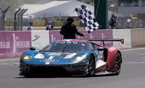 Ford Racing Flag 2017 Ford Gt At Le Mans Multimatic Motorsports