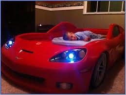 blue corvette bed step2 corvette toddler to bed with lights blue home design