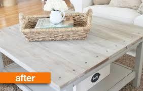 ikea hacks coffee table before after barnwood coffee table ikea hack apartment