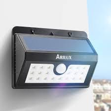 Outdoor Lighting Sale by Arilux Al Sl02 Wireless Solar Powered 20 Led Waterproof Pir