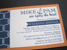 Couples Wedding Shower Invitations Nautical Wedding Shower Invitations Cloveranddot Com