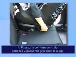 siege auto installation bébé confort installation dos à la route du siège auto opal