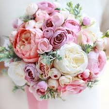 Artificial Flower Bouquets 22 Fake Flower Bouquets For Weddings Emmaline Bride