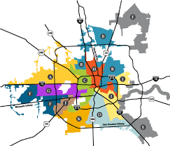 houston map districts projects in your district