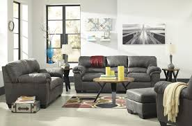 couch and chair set signature design by ashley bladen casual faux leather full sofa