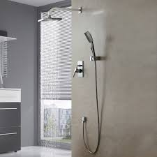 lightinthebox single handle wall mount shower faucet with 10 inch
