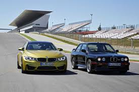 Bmw M3 Sport - the new bmw m4 coupe and the bmw m3 sport evolution e30 05 2014
