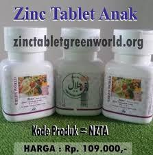 Obat Zinc tablet obat herbal meningkatkan kecerdasan anak