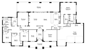 Split Floor Plan House Plans by Riverview 44 Acreage Level Floorplan By Kurmond Homes New