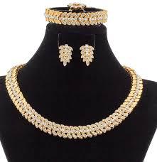 bracelet fashion design images _ new fashion 18 gold jewelry sets flower shape design crystal jpg