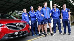 mazda australia mazda and driver dynamics take north melbourne kangaroos to