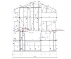 plan maison en u ouvert plan de maison bois magnolia basse defjpg plan de maison bois 3
