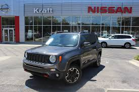 jeep renegade charcoal used inventory kraft nissan tallahassee fl