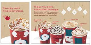 starbucks 12 days of giving christmas deals u0026 holiday promotions