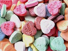 1kg conversation hearts bulk lollies wedding candy buffet love