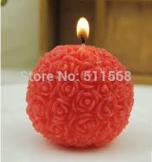cheap rose ball candle wedding favors find rose ball candle