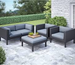 Hampton Bay Corranade 5 Piece - patio conversation sets oakland 5 piece patio conversation set
