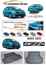 mitsubishi attrage bodykit perodua bezza lip spoiler boot tray max automart gombak