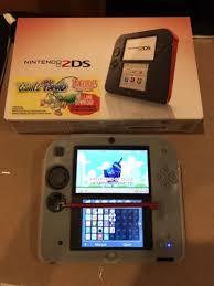 2ds black friday nintendo 2ds pokemon x 4gb red u0026 black handheld system ebay